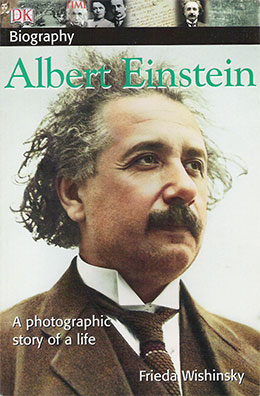 cover of ALBERT EINSTEIN by Frieda Wishinsky