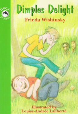 cover of DIMPLES DELIGHT by Frieda Wishinsky