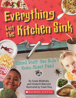 cover of EVERYTHING BUT THE KITCHEN SINK by Frieda Wishinsky