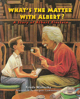 cover of WHAT'S THE MATTER WITH ALBERT? by Frieda Wishinsky