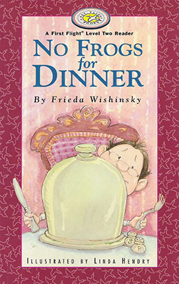 cover of NO FROGS FOR DINNER by Frieda Wishinsky