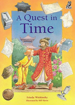 cover of A QUEST IN TIME by Frieda Wishinsky