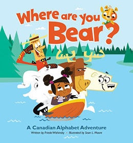 cover of WHERE ARE YOU BEAR? by Frieda Wishinsky